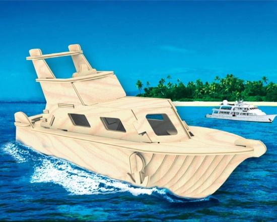 Фанерная яхта