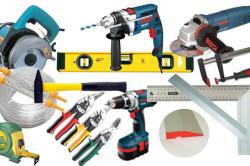 Инструменты для монтажа перегородок