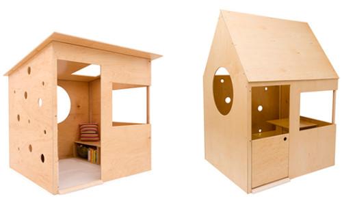 Фанерный домик для ребенка