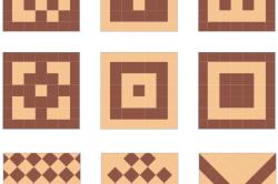 Схемы укладки плитки на пол