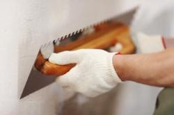 Шпатлевка стены из фанеры