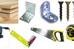 Инструменты для строительства дома из фанеры