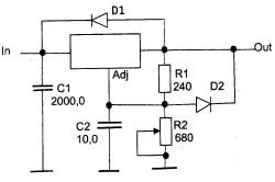 Микросхема LM-317