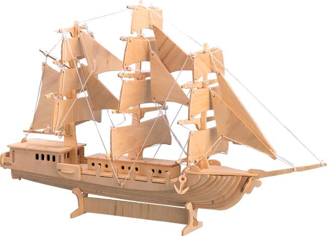 Корабль из фанеры