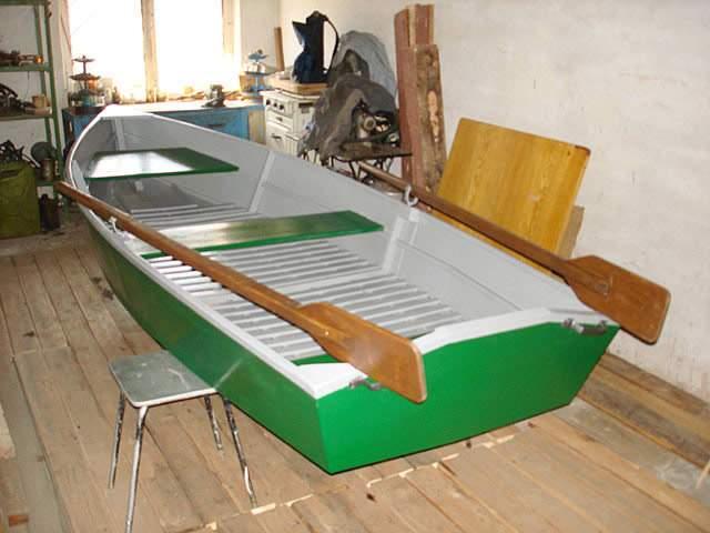 Фанерная лодка 83