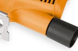 Элемент, отвечающий за подключение лобзика к пылесосу