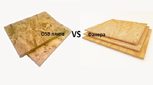 Выбор между фанерой и OSB плитой