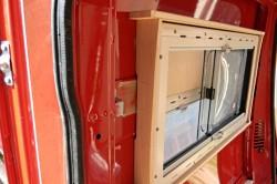Рамка обрешетки вокруг окна