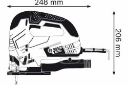 Типовые размеры электролобзика