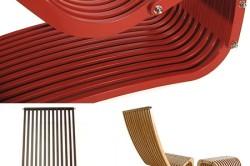 Мебель из ламелей