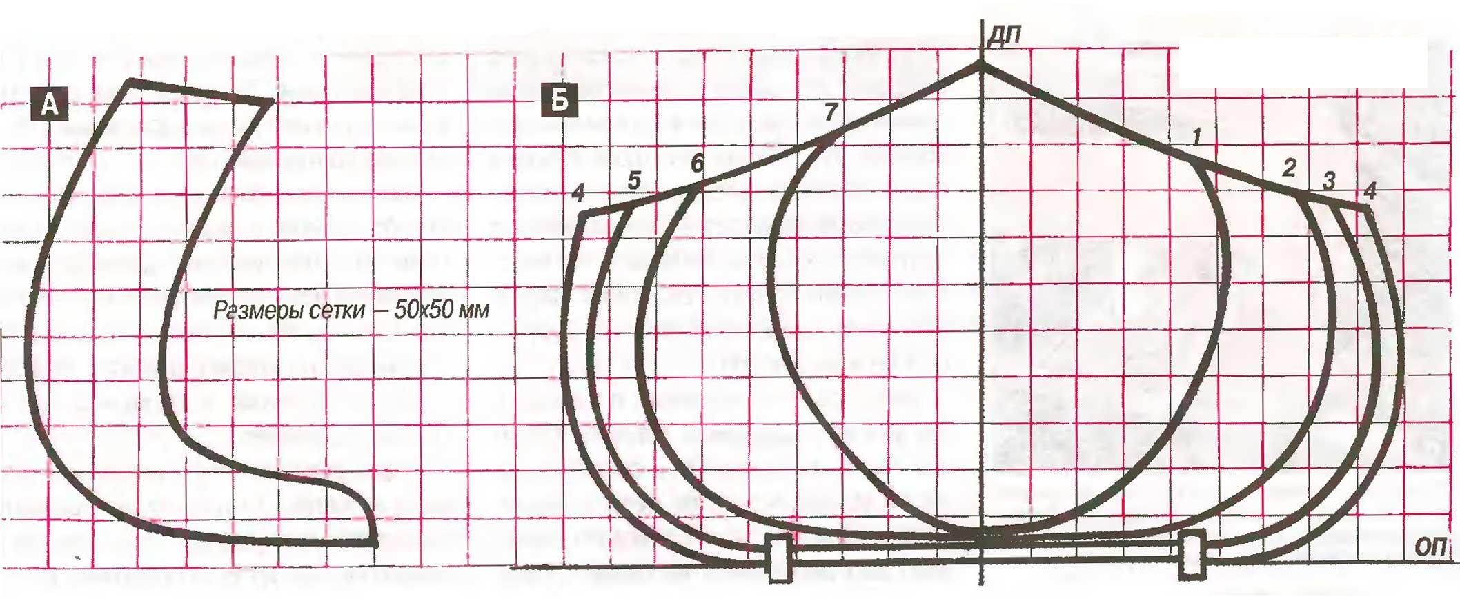 Как сделать байдарку своими руками чертежи 64