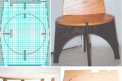 Шаблон для стула и стола
