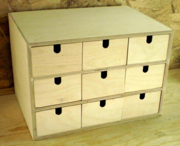 Ящик для мелочей из фанеры своими руками