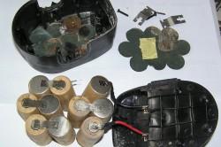 Никель-кадмиевая батарея шуруповерта