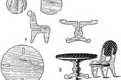 Эскизы столика из фанеры для распила