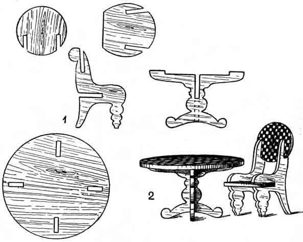 Мебель из фанеры своими руками для кукол чертежи