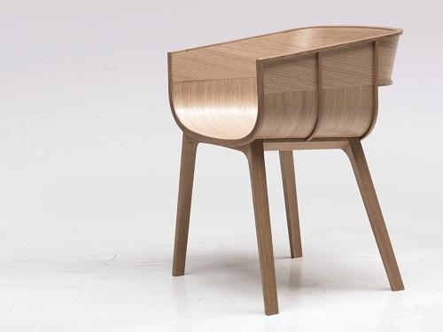 Фигурный стул из фанеры