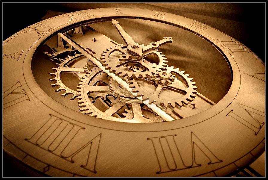 Механизм часов из дерева своими руками чертежи