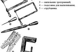 Инструменты для выпиливания из фанеры