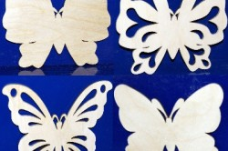 Варианты бабочек из фанеры