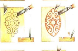 Техника резьбы по фанере