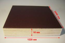 Размеры листа ламинированной фанеры