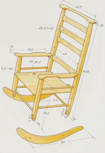 Размеры кресла качалки своими руками из фанеры фото 266