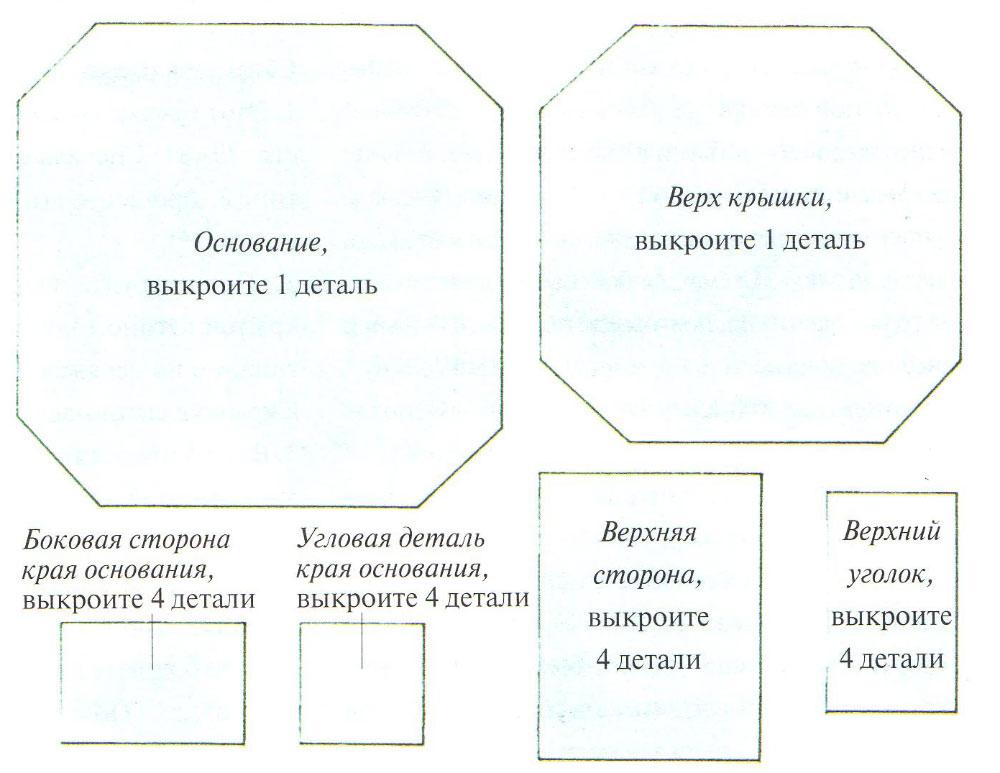 Вазочки из открыток своими руками чертеж пошагово